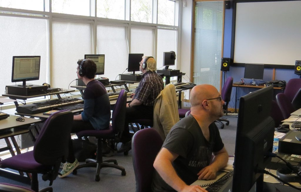 Sound Production Education at North Highland College