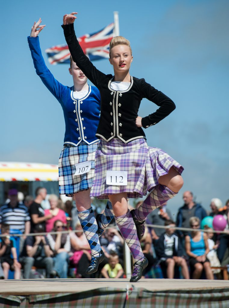 Highland Dancing at the Halkirk Games