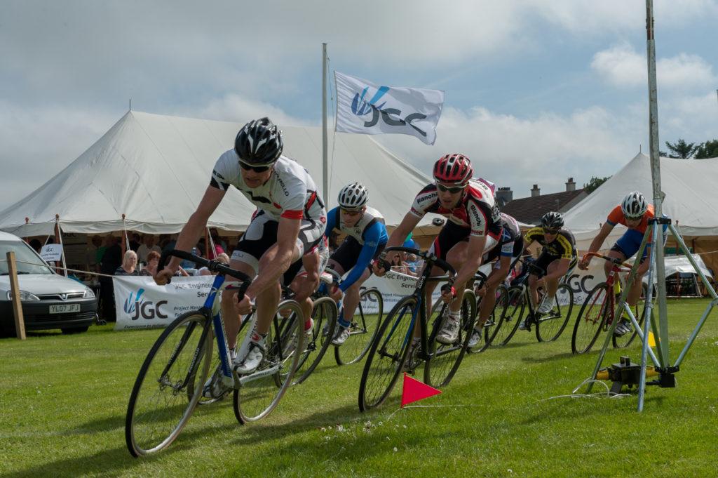 Cycle race at Halkirk Games