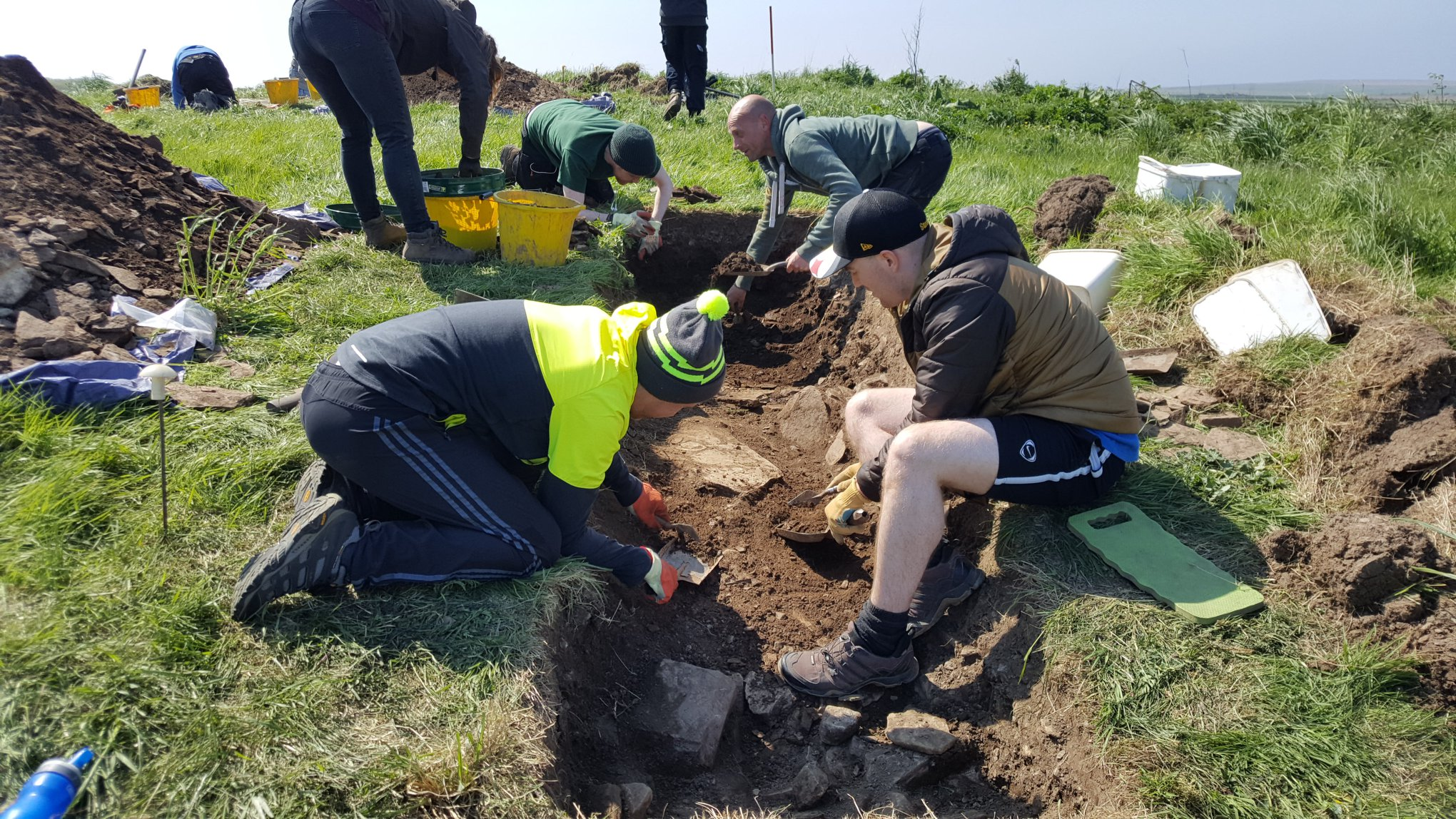 Caithness Broch Project community Dig