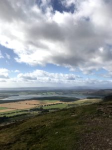 The view over Sutherland from Ben Bhraggie